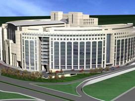 İstanbul'a dört dörtlük 'Adalet Sarayı'