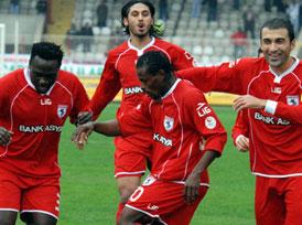Samsunspor 5 yıl sonra Süper Lig'de