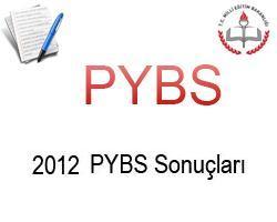 2012 pybs bursluluk sınav sonuçları