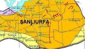 Şanlıurfa'da deprem fay hattında