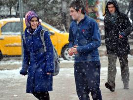 18 ilde okullar kar nedeniyle tatil