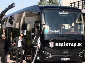 Beşiktaş, Tel Aviv maçı için İsrail'e gitti
