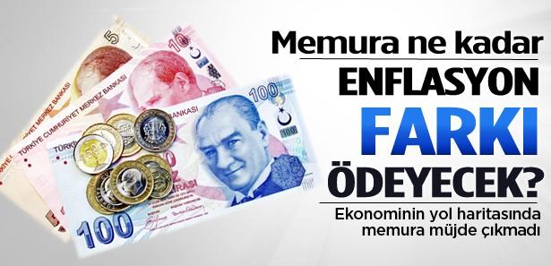 Memura ne kadar enflasyon farkı ödenecek?