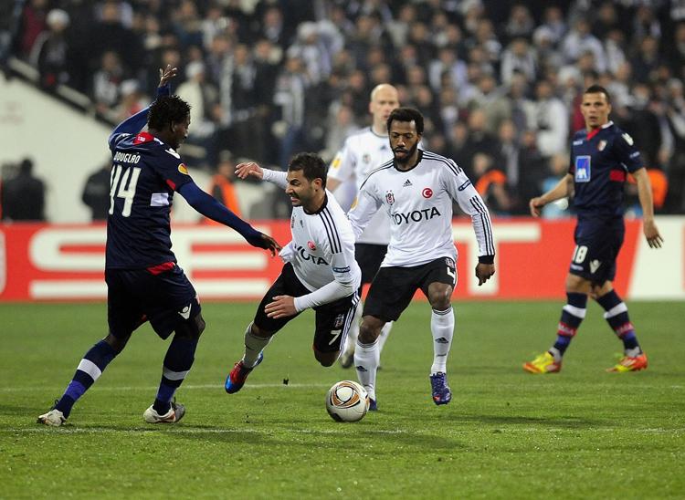 Beşiktaş-Braga maçından görmedikleriniz