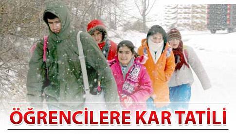 28 Şubat 2012 Kar Tatili Olan İller ~ Güncel