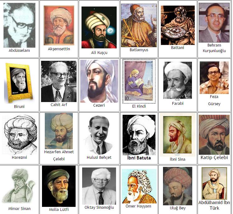 türk bilim insanları ile ilgili görsel sonucu