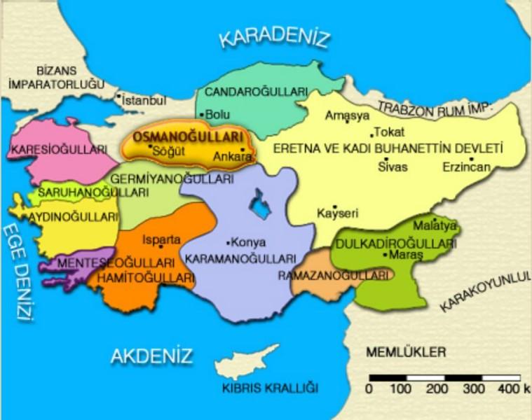 osmanlı devleti 1299 ile ilgili görsel sonucu