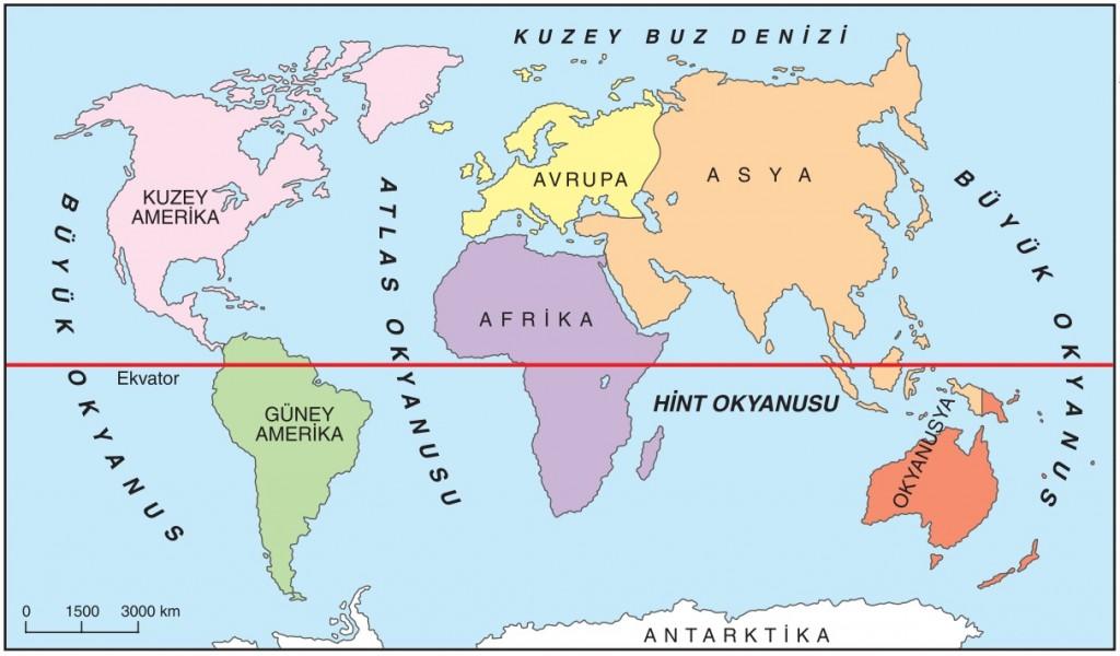 Ülkemiz Hangi Kıtalar Üzerinde Yer Almaktadır ile ilgili görsel sonucu