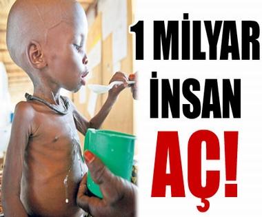 1 milyar insan aç ile ilgili görsel sonucu