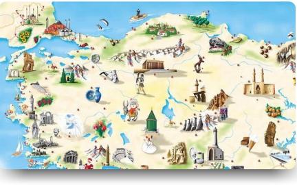 turizm haftası resim yarışması ile ilgili görsel sonucu
