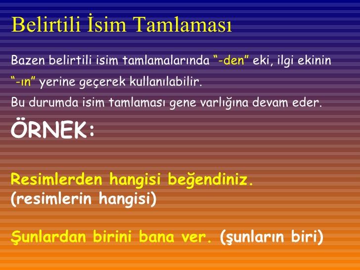 Belirtili İsim Tamlaması Örnekleri 20 Tane ile ilgili görsel sonucu